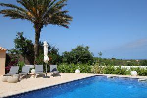 Casa Tia | s'Alqueria Blanca | Santanyi | Mallorca | Pool mit Meerblick