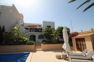 Casa Tia | s'Alqueria Blanca | Santanyi | Mallorca | Ansicht Haus